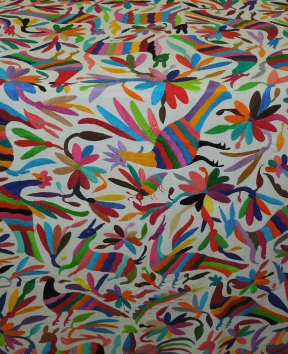 Mantel Otomí Multicolor