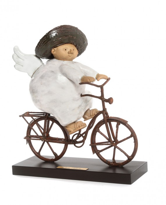 Ángel en Bici