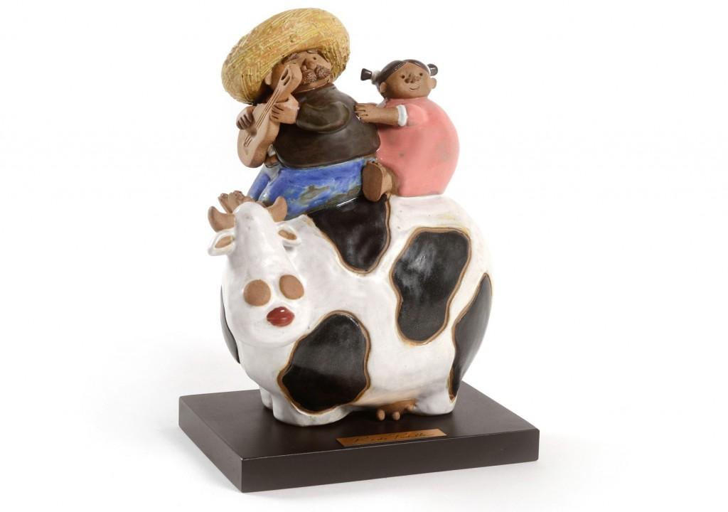 Pareja en Vaca