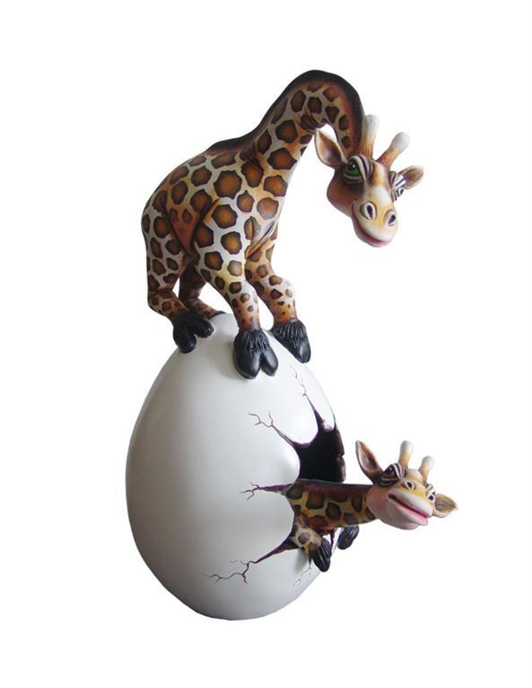 Jirafa Maternal Huevo